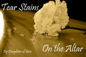 Tear Stains on the Altar Music